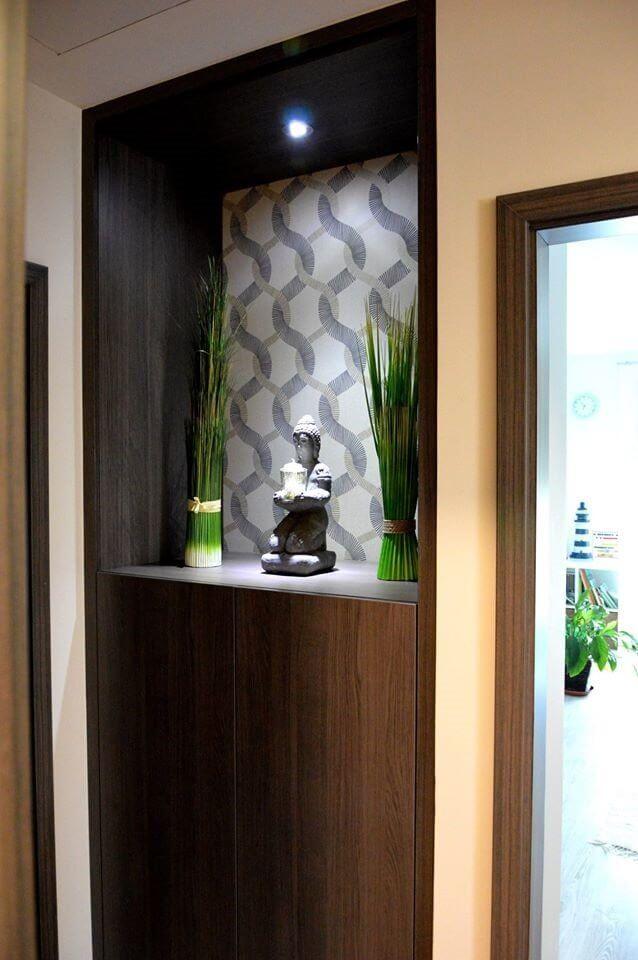 Egyedi falfülke szobabútor készítés