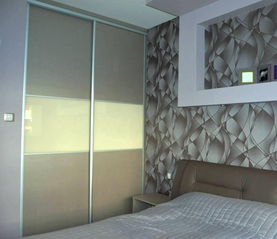 Egyedi szobabútor készítés tolóajtós szekrennyel