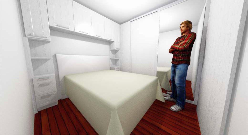 Egyedi hálószoba bútor készítés 3D látványtervvel