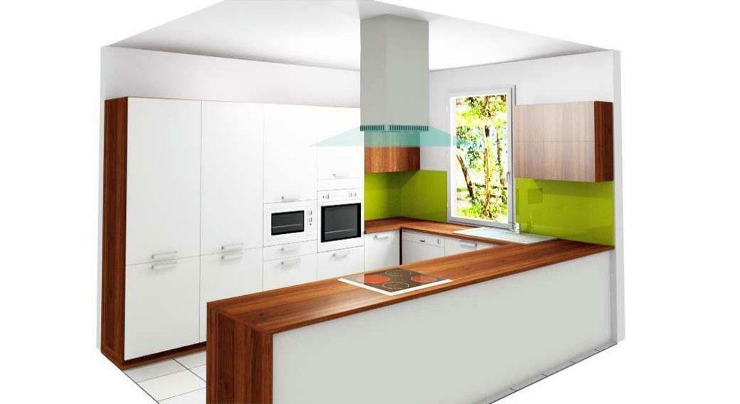 Egyedi konyhabútor látványterv készítés 3D-ben