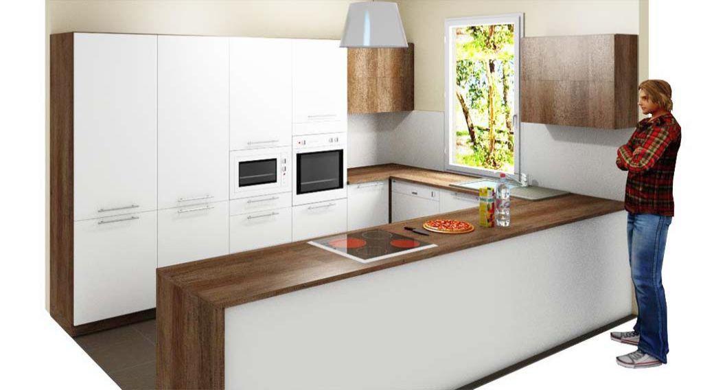 Egyedi konyhabútor készítés 3D látványtervvel