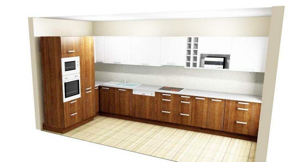 Egyedi konyhabútor készítés több színben, 3D látványtervvel, blum aventos HF felnyíló vasalattal