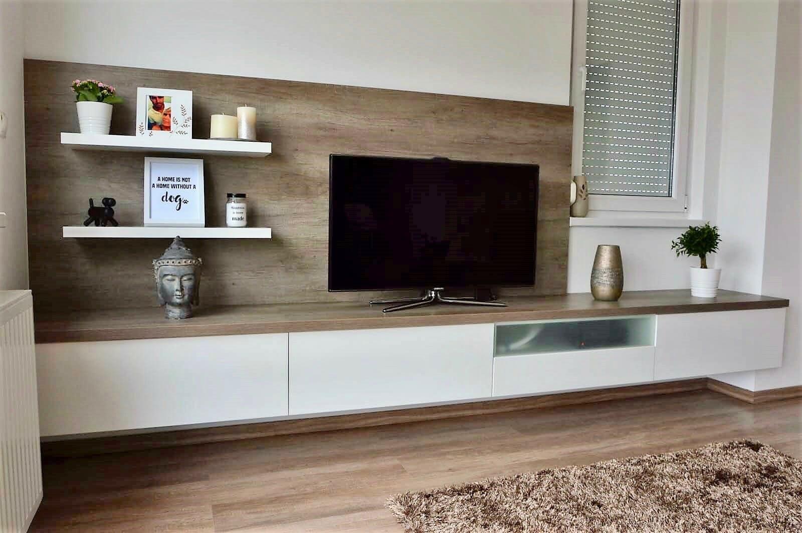 Egyedi-nappali-bútor-készítés-lebegő-kivitelbe-fiókokkal-üveges-felső-résszel